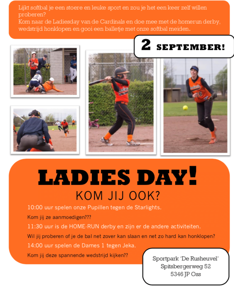 Poster ladiesday Cardinals 2018